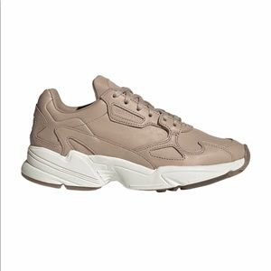 """WOMEN'S FALCON LEATHER """"ASH PEARL"""" ADIDAS SNEAKERS"""